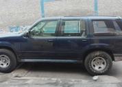 Linda camioneta cerrada ford explorer azul del 97