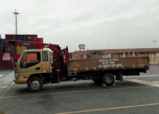 Excelente camion grua