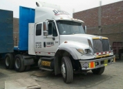 Vendo excelente tracto camion international 7600