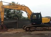 Excelente excavadora hyundai