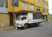 Camion de cuatro toneladas