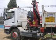 Vendo camion grua mercedes benz 2011. contacarse.
