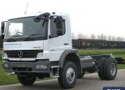 Empresa vende camion grua 1725 mercedes benz, contactarse.