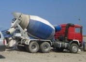 En venta camion mixer volvo de 7m3. oportunidad!.