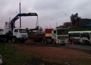 Servicio de transporte de semi trailer y camiones gruas. contactarse.