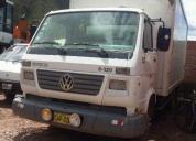Remato furgon wv del 2007.