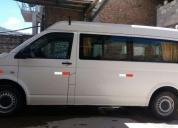 Excelente minivan volskwagen 2012