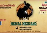 Mariachi mezcal mexicano piura. contactarse.
