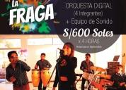 Oportunidad!. orquesta arequipa show la fraga. internacional.