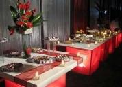 Buffets para promociones y eventos.
