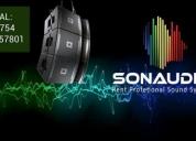 Alquiler de equipos de sonido profesional.contactarse.