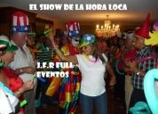 Show de la hora loca baile,juegue y diviertase