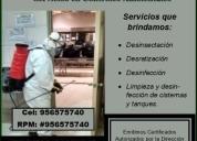 Oportunidad!. fumigacion para el control de plagas urbanas