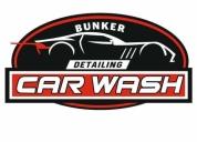 Bunker car wash  detailing, lavado de autos. contactarse.