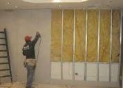Realizamos trabajos en drywall. contactarse.