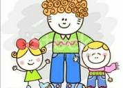 Cuido niños o niñas confiable. contactarse.