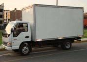 Transporte de carga liviana y pesada.