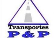 Transportes p y p en la ciudad de chiclayo, contactarse.