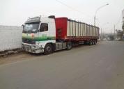 Servicio de transporte de carga.