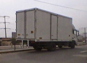 Transporte de carga unidades corporativas