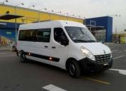 Oportunidad! alquiler de minibuses, microbuses, vans