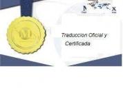 Traduccion certificada y traductores