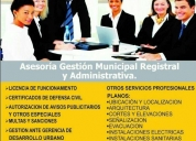 Asesores y consultores en gestion municipal. contactarse.