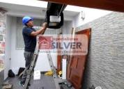 Oportunidad! puertas levadizas seccionales cercos eléctricos