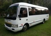 alquiler de van, couster, bus, transporte turistico.
