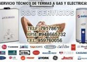 servicio técnico* instalaciónes,reparaciones y mantenimiento de termas