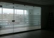 Mantenimiento en general,fabricacion e instalacion de ventanas,puertas de vidrio.