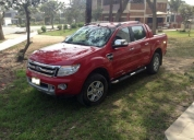 Ford ranger limited aÑo 2013, modelo 2014. contactarse.