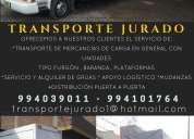 Transporte jurado - tu soluciÓn en transporte
