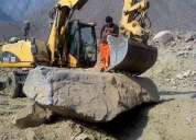alquiler de excavadora neumaticas a todo costo 997470736