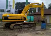 Alquiler y venta de excavadora  sobre orugas