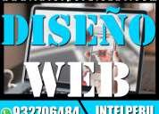 DiseÑo web tienda virtual logo brochure pagina web + hosting y dominio gratis | paginas publicitari