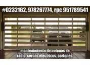 951789541, alarmas contra incendios huancayo, puertas seccionales, concertinas, barras antipánico