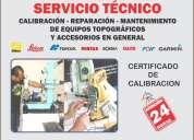 Gps - reparación, mantenimiento y calibración