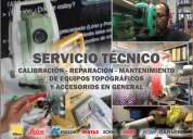 Venta, alquiler  y servicio técnico de equipos topográficos