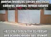 Electricistas, pintores, aire acondicionado, cableado estructurado, estructuras metálicas, drywall