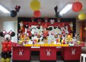 DecoraciÓn minnie mouse coqueta fiestas infantiles