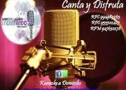 Karaoke a domicilio - delivery - cumpleaÑos - reencuentros - aniversarios - eventos