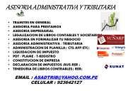 Asesoria administrativa - tributaria - asadtrib