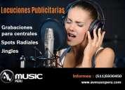 Spots -locuciones - spots radiales-publicidad radial-voz en off-avmusic peru
