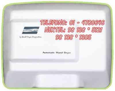 secadores de manos de alto transito