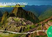 Paquetes de viajes turisticos a machu picchu - ofertas para peruanos