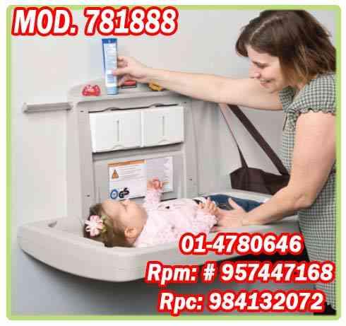 cambiador plegable para bebe marca rubbermaid mod.781888