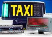 Buscamos distribuidores de taxímetros y otros para taxis
