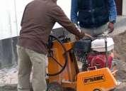 alquiler de maquinarias  cortadoras de concreto y asfalto  lima 4252269