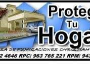 Empresa de fumigaciones en san isidro 792-4646
